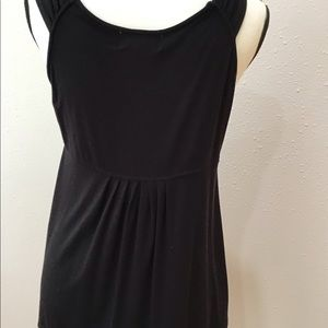 George Tops - Sleeveless Black Top
